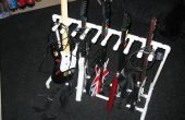 PVC soporte de guitarra para Guitar Hero y Rock Band