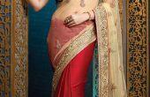 Aumentar tus características femeninos con saris del diseñador de Kesaronline.com