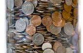 Para poner monedas en una jarra