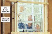 Cómo instalar una ventana de Block de vidrio
