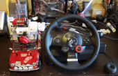 No.02 volante coche R/C coche con Arduino, Webcam y red. USB etc.