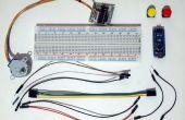 Arduino Nano y Visuino: Control de Motor paso a paso con los botones