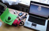 Vamos a cocinar: escáner 3D basado en Arduino y procesamiento