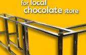 Mostrador para tienda de chocolate