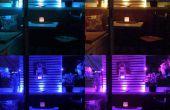 Decorar un pequeño balcón con iluminación al aire libre de LED inteligentes