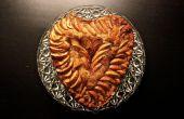 Manzana canela pastel