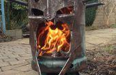 El rey de la bruja de Angmar madera quemador