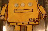 Torta de Robot Instrucable