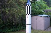 Joe Mercurio: semi-Escala vuelo GI Joe Redstone Rocket