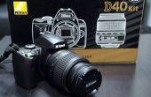 Cómo reparar el error de 'Prensa obturador Release botón otra vez' en un DSLR Nikon.
