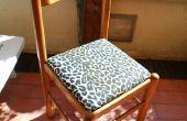 Cómo tapizar un asiento de la silla