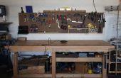 Residuos de baja, Simple, roca sólida mesa de trabajo