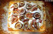 Pizza de Mozzarella de higo, Prosciuttto,