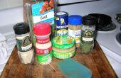 Hacer su propio casero tomate salsa utilizando frescos tomates y todos los ingredientes naturales