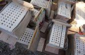 Cómo hacer casas de abeja