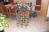 Cómo hacer una máquina de pinball doble de K'nex