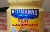 Baconnaise... mayonesa de bacon desde cero