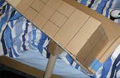 Apoyos de cartulina: Cómo hacer un Hod constructores