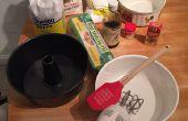 Pasteles caseros con crema pastelera y crema batida