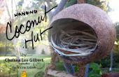 Cabaña de coco | Una casa para pájaros y criaturas