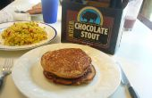 Bisonte Chocolate Stout cerveza crepes