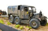 Militar modelo: R100 de pionero de Scammell