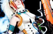 Maestro de espadas mujer Barioth armadura