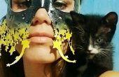 Starry Eyed láser corte máscara de cuero (no cose, ningunas herramientas requeridas)