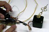 Control manual sencillo de paso a paso motores sin un PIC o PC