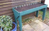 Plantador del jardín de verduras de plataforma