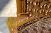Renovación de mesa y sillas jardín bambú
