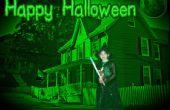 Manipulación de la foto de Halloween con Pixlr
