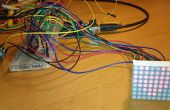 Tutorial para principiantes: control de matriz de LED con 2 595 registros de cambio y medidor