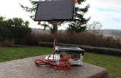 Sensor remoto de temperatura con energía solar