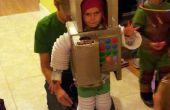 Traje niño de Robot con efectos de sonido, Detector de caramelo y más
