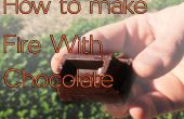 Cómo hacer fuego con Chocolate y puede