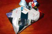 Reciclado de envoltura de regalos