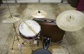 Construir un conjunto de tambor maleta