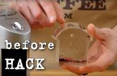 Truco simple para eliminar la estática en el molinillo de café