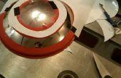 Capitán América protector de tapa de olla de cocina