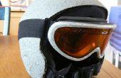 Rockhead snowboard casco y gafas de