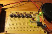 Cómo hacer un piano electrónico con un 555 IC