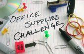 Cómo entrar en el desafío de suministros de oficina de Instructables