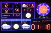 TFT de Arduino prediccion estación meteorológica con ESP8266