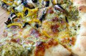 """Tomatillo """"Salsa verde"""" Pizza"""