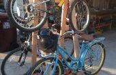 Estante de bicicleta del balanceo
