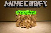 Perler cuentas bloque Minecraft
