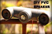 Altavoces DIY de PVC