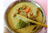 Verde Pollo Curry tailandés