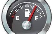 Visualización datos de gasto de combustible mensual